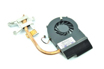 DC05V 0.38A HP Pavilion DV7 Cooling Fan + Heatsink Thermal 598883-005 606574001