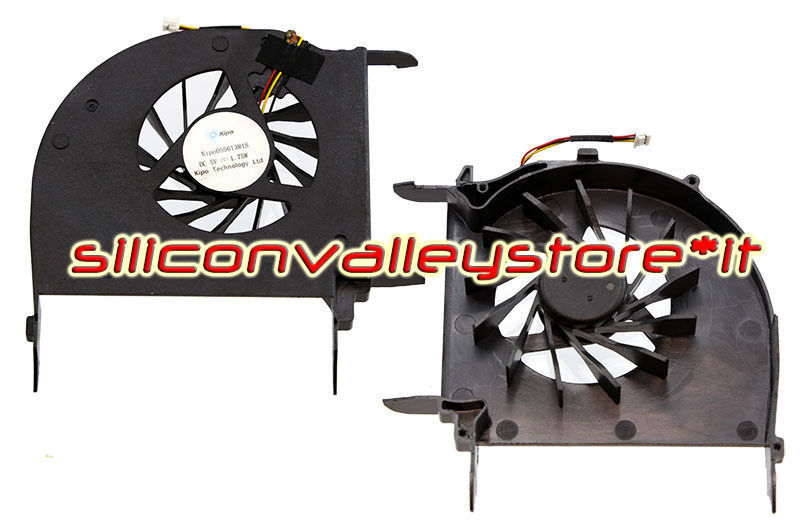 new Fan KIPO055613R1S per Notebook HP Pavilion DV7-3140EL