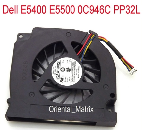 NEW MCF-W12BM05 DC5V 0.39A 4Pin For Dell E5500 E5400 0C946C PP32L Laptop CPU Cooler Cooling Fan