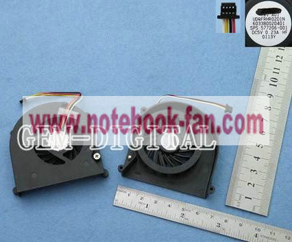 New CPU Fan For HP COMPAQ 4311S Series Laptop UDQFRHR02D1N