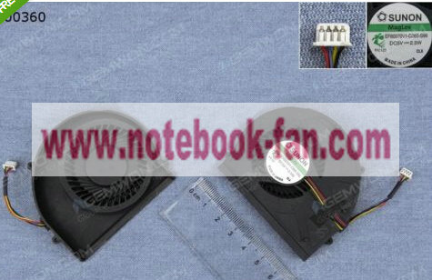 New Fan For LENOVO Thinkpad G360 EF60070V1-C080-S99 4PIN