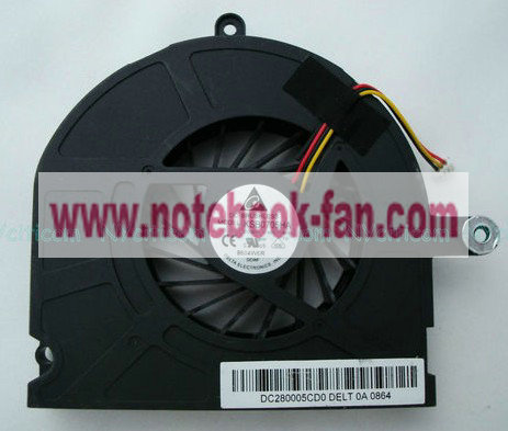 Toshiba Qosmio X300 X305 CPU cooling Fan KB0705HA-8A83 AB0905HX-