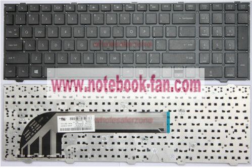 NEW HP ProBook 4540s 4540 us Keyboard without 701485-001