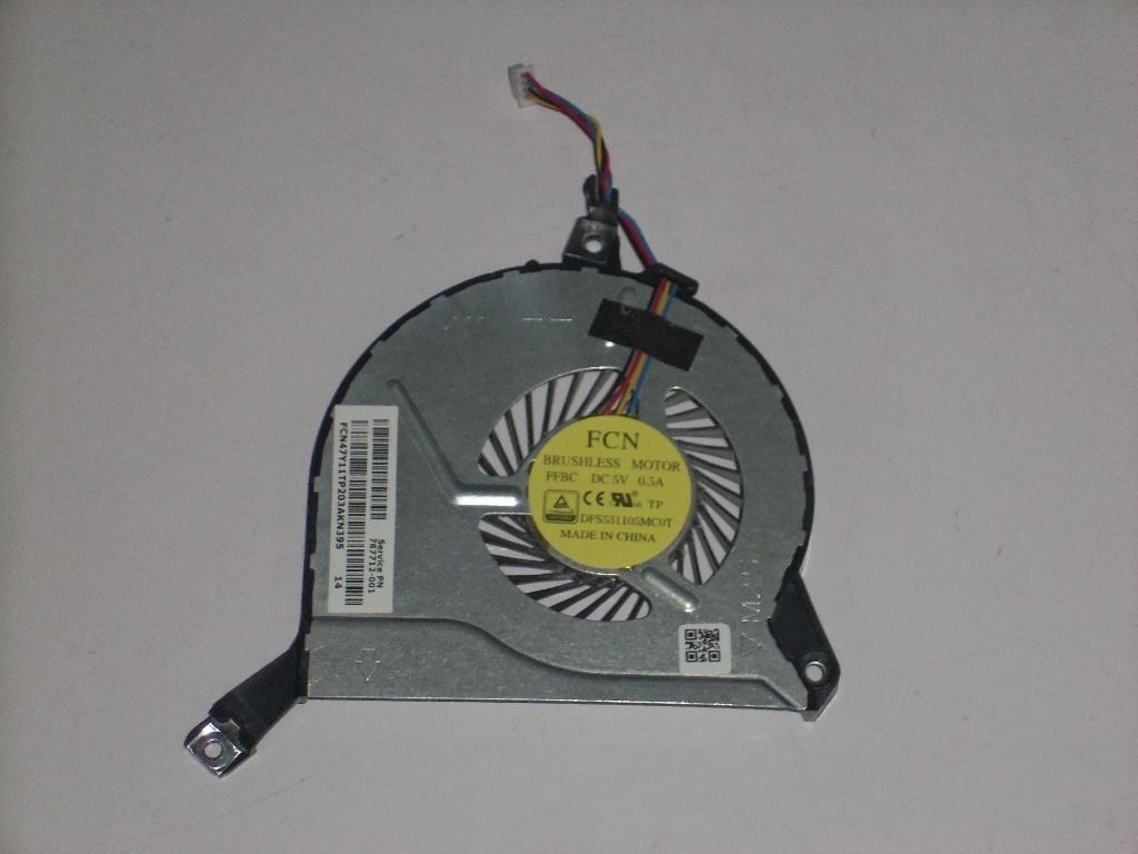 NEW HP 17-f cpu Fan 767712-001 47Y11TP203 DFS531105MC0T