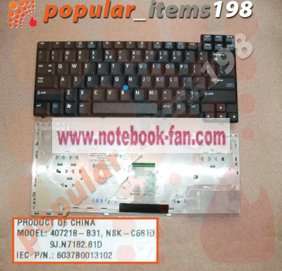 HP Compaq NX8420 NW8440 NX8220 Keyboard 416416-001 NEW