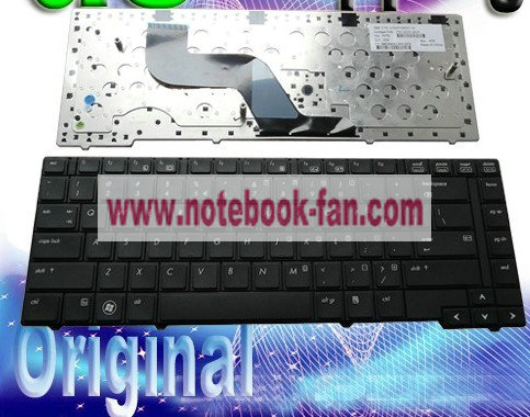 NEW HP probook 609870-001 6037B0050101 V103126BS1 US keyboard Bl - Click Image to Close