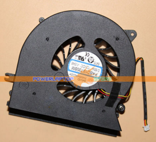 New MSI GT72 GT72VR PABD19735BM 3Pin 0.65A 12VDC Fan