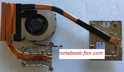 NEW HP ZBook 15 NVidia Quadro N15M-Q2 734290-001 Cooling Fan Heatsink